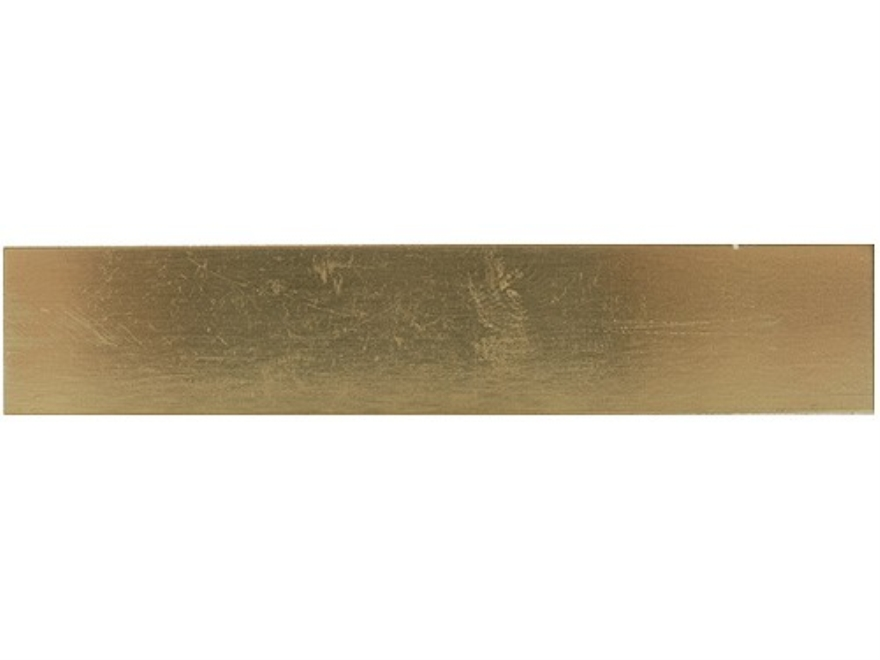 Grobet Engraving Practice Plates Brass Package of 12