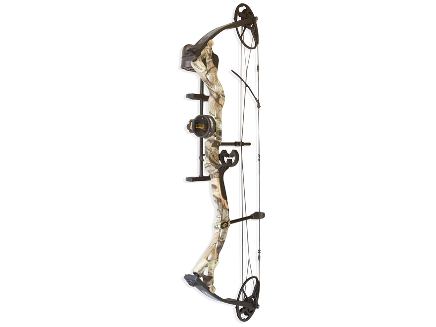 "Diamond Infinite Edge Compound Bow Package Right Hand 5-70 lb Draw Weight 13""-30"" Draw Length Mossy Oak Break-Up Infinity Camo"