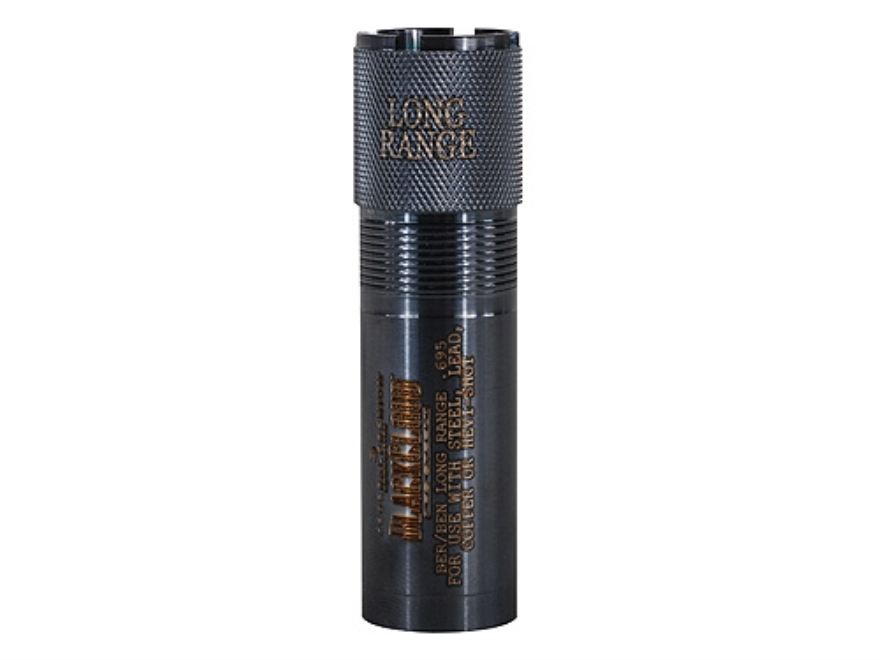 Carlson's Extended Black Cloud Waterfowl Choke Tube Benelli (Except Crio), Beretta Mobilchoke 12 Gauge