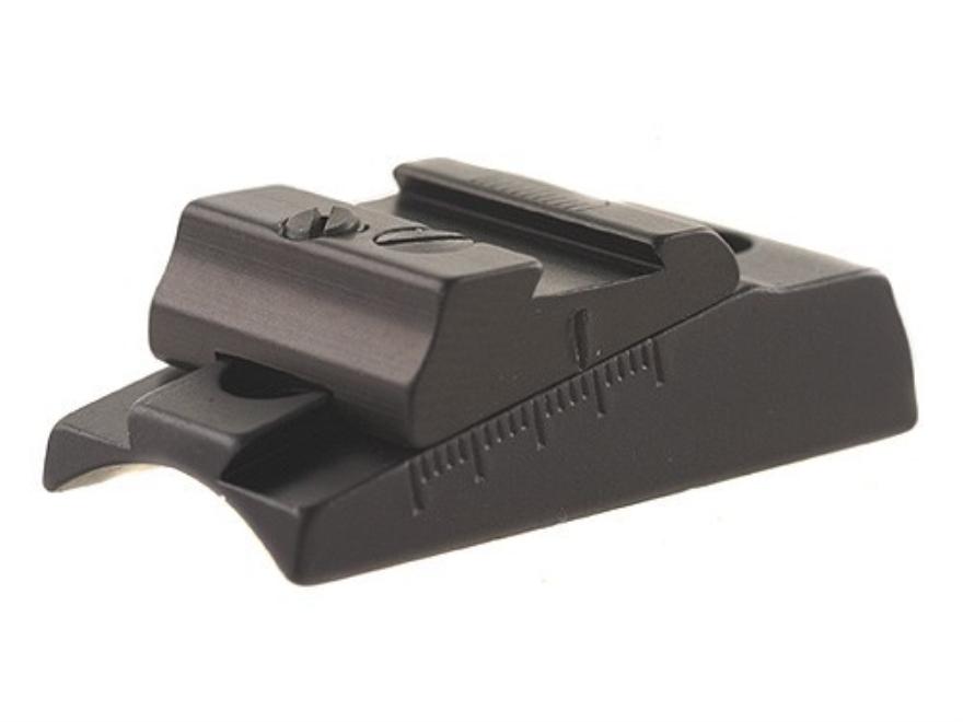 Williams WGOS-Round -T/C Open Sight Less Blade Fits T/C Aluminum Black