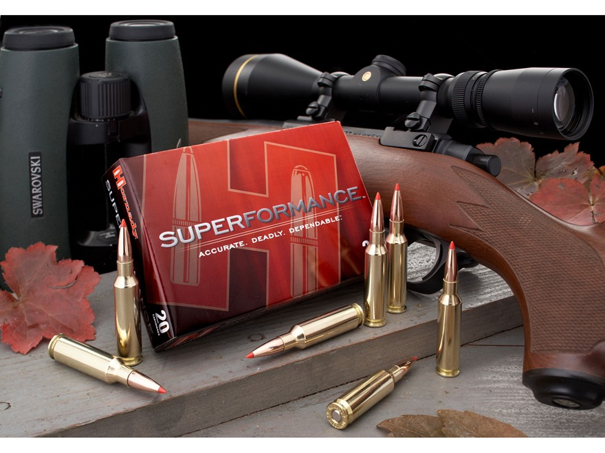 Hornady SUPERFORMANCE SST Ammunition 6.5 Creedmoor 129 Grain SST Box of 20