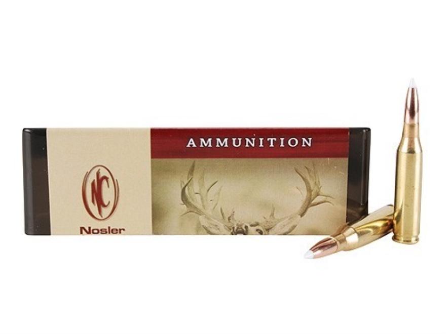 Nosler Custom Ammunition 260 Remington 130 Grain AccuBond Spitzer Box of 20