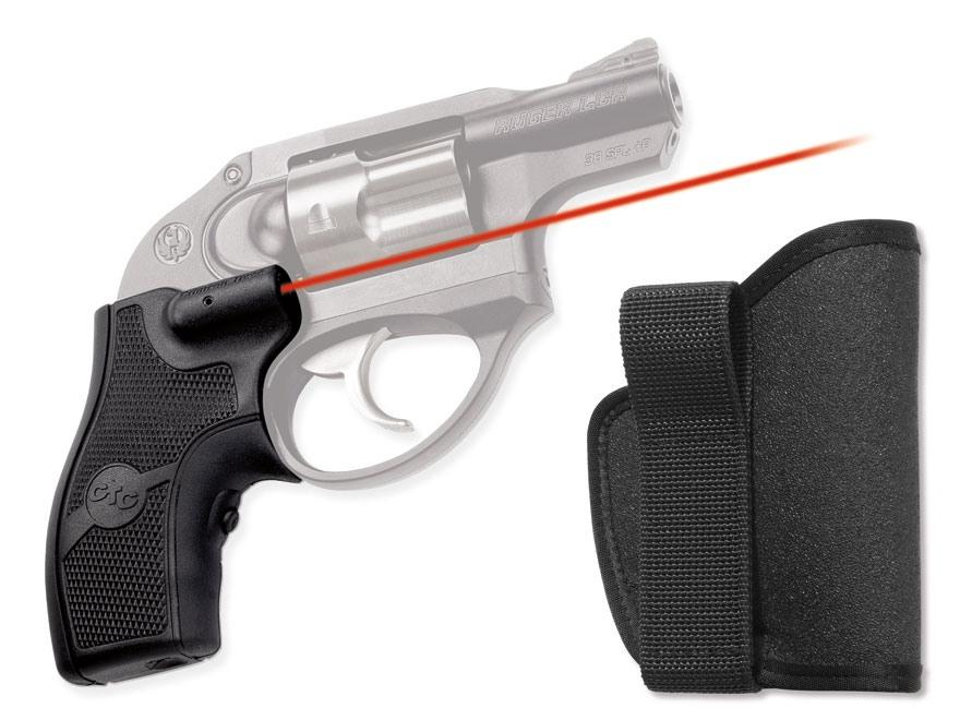 Crimson Trace Lasergrips Ruger LCR Polymer Black