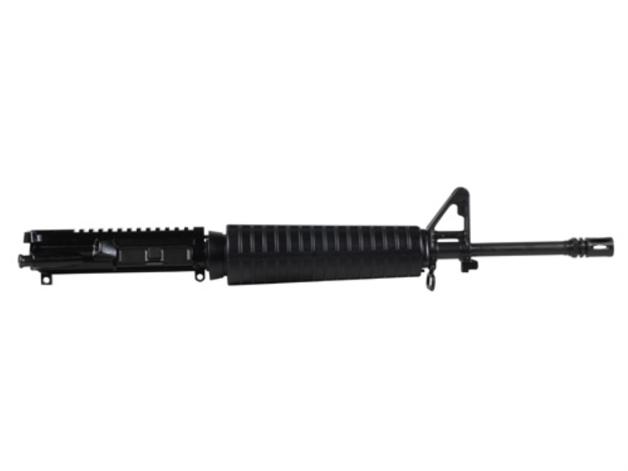 "Del-Ton AR-15 A3 Upper Receiver Assembly 5.56x45mm NATO 16"" Barrel 1 in 9"" Twist Mid Length Lightweight Contour Barrel"