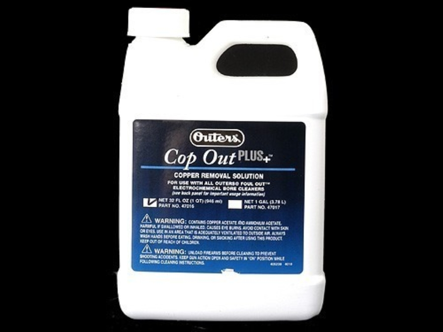 Outers Cop Out Plus For Foul Out Cleaning System 1 Quart