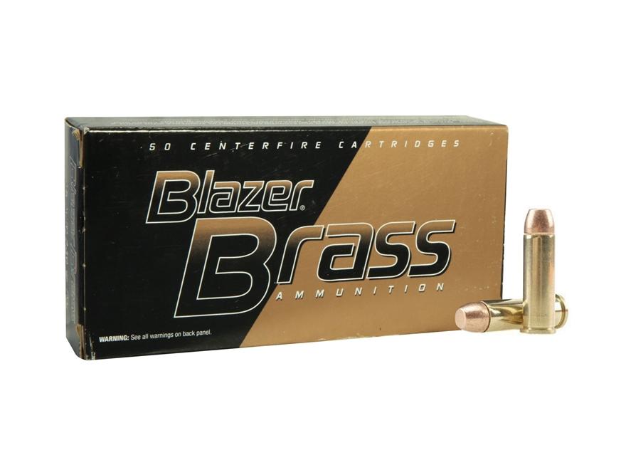 CCI Blazer Brass Ammunition 38 Special 125 Grain Full Metal Jacket Box of 50