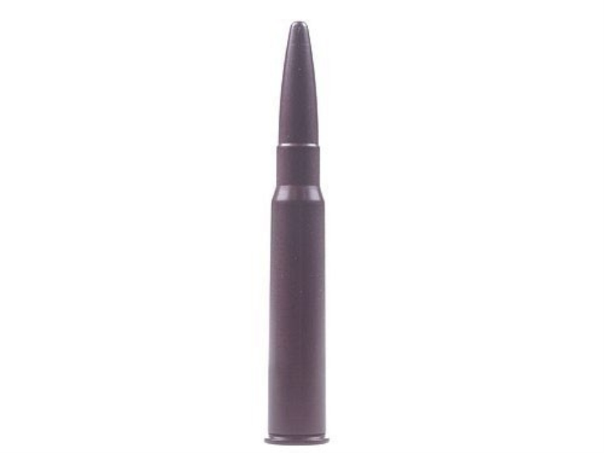 A-ZOOM Action Proving Dummy Round, Snap Cap 8x57mm JRS (8mm Rimmed Mauser) Rimmed Aluminum Package of 2