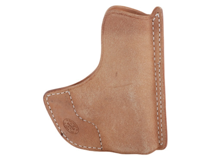 El Paso Saddlery Pocket Max Pocket Holster Ambidextrous Kahr CM9, PM9, PM40, MK9, MK40 Horsehide Natural