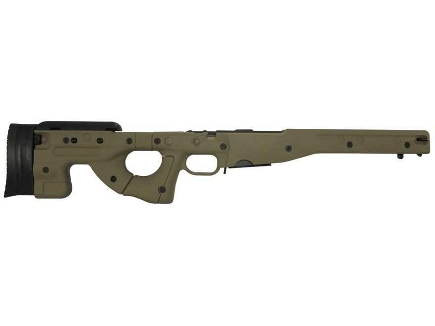 Accuracy International Chassis System (AICS) 1.5 Adjustable Stock Remington 700 Short Action 308 Winchester