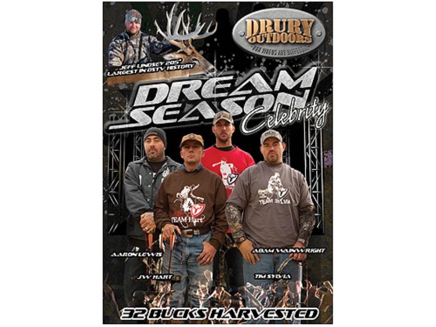 Drury Outdoors Dream Season Celebrity Video DVD