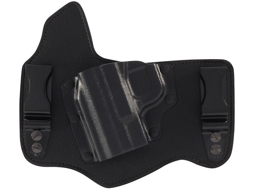 Galco King Tuk Tuckable Inside the Waistband Holster S&W M&P Fullsize, Compact Leather and Kydex Black