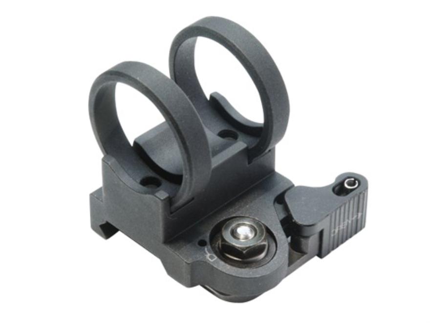 "LaRue Tactical LT707-1 In-Line Picatinny Rail Flashlight Mount 1.040"" Ring Diameter Aluminum Black"