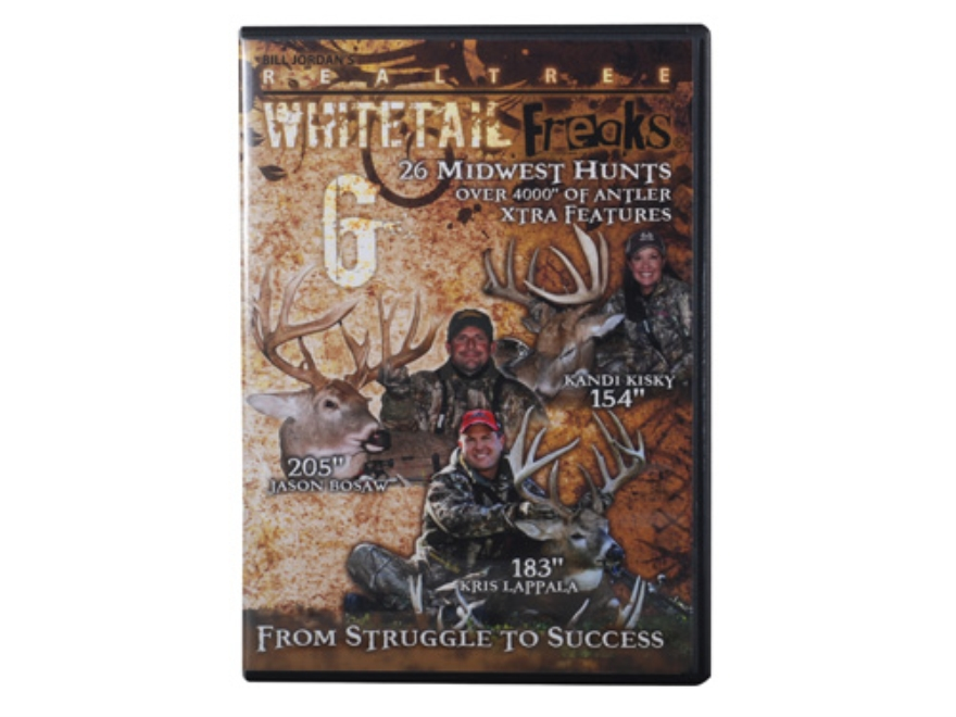 Realtree Whitetail Freaks 6 Video DVD