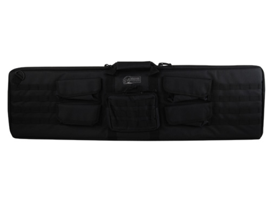 "Voodoo Tactical Enlarged Tactical Shotgun Gun Case 44"" Polyester Black"