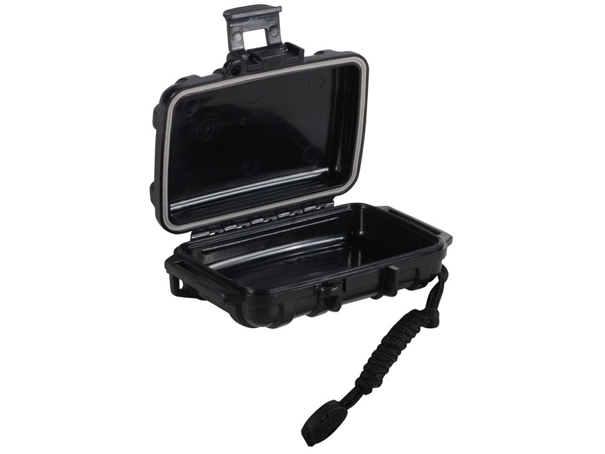 "Otterbox 1000 Waterproof Accessories Case 4.83"" x 3.68"" x 1.65"" Polymer Black"