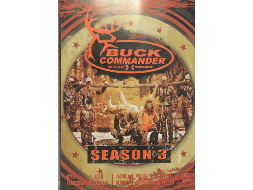 "Buck Commander ""Protected by Under Armour, Season 3"" DVD"