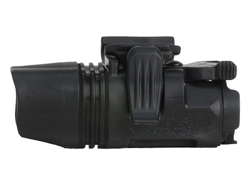 BlackHawk Night-Ops Xiphos NT Tactical Light White LED Fits Picatinny or Glock-Style Rails Aluminum Black Anodized
