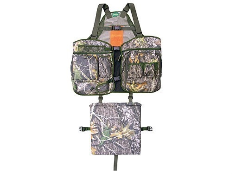 Primos Men's Strap Turkey Vest Polyester Mossy Oak Break-Up Camo XL/2XL