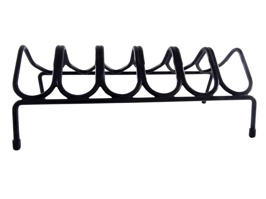 LOCKDOWN Pistol Rack 6-Gun Vinyl Coated Steel Black