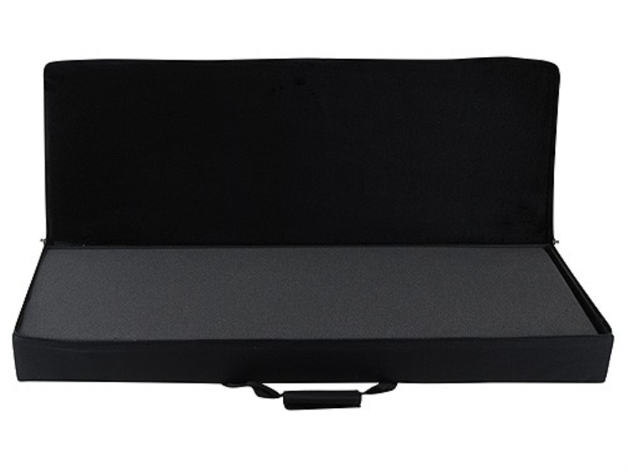 "Bulldog Hard-Sided Tactical Rifle Gun Case with Cut to fit Foam 40"" Nylon Black"