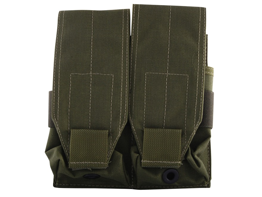 Maxpedition Double Stacked M4/M16 30rnd Four Pouch Nylon Olive Drab