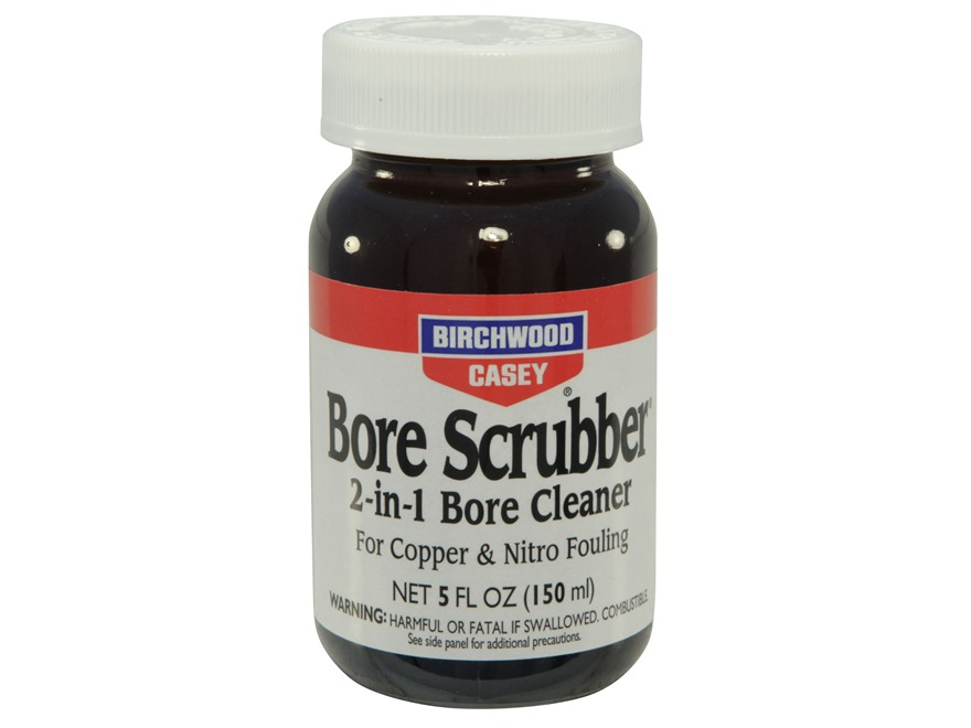Birchwood Casey Bore Scrubber 2-in-1 Bore Cleaning Solvent 5 oz Liquid