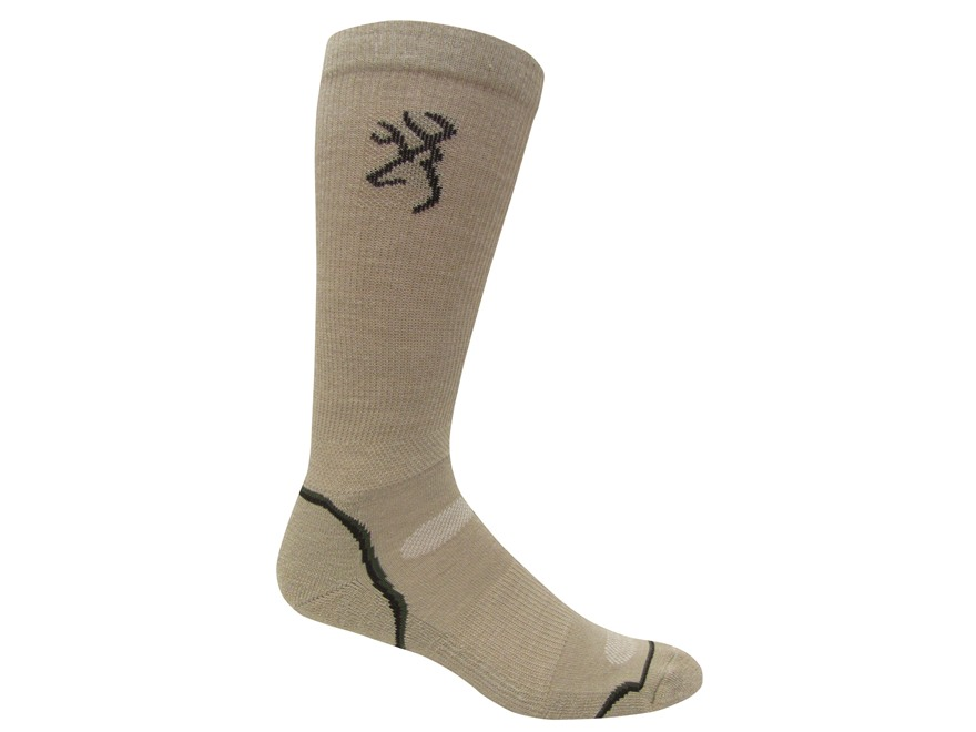Browning Men's All Season Lightweight Crew Socks
