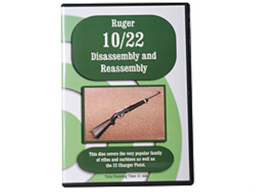 """Ruger 10/22 Disassembly & Reassembly"" DVD"