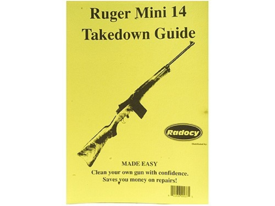 "Radocy Takedown Guide ""Ruger Mini-14"""