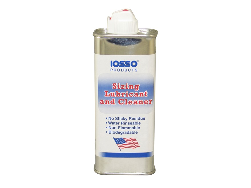 Iosso Case Sizing Lube and Cleaner 4 oz Liquid