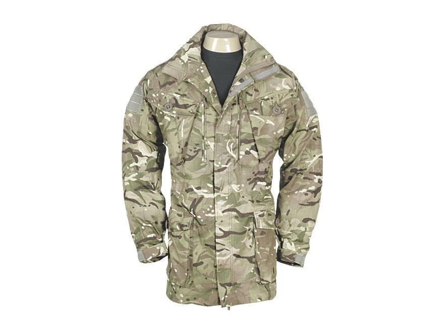 Military Surplus British Combat Smock Multi-Terrain Pattern Camo M