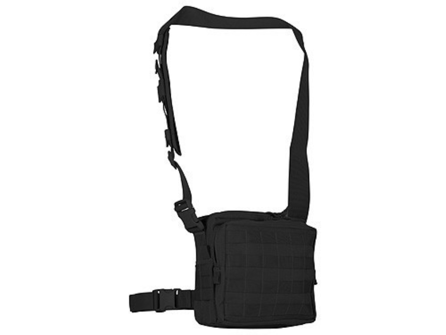 Maxpedition Active Shooter Bag PALS Webbing Front Nylon Black