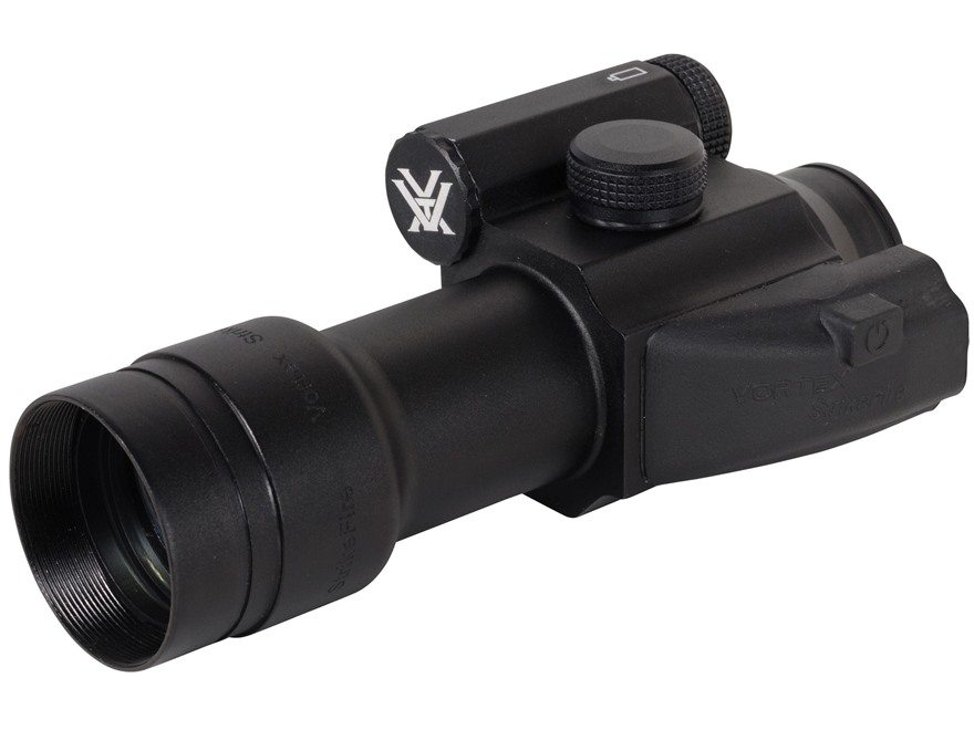 Vortex Optics StrikeFire Red Dot Sight 30mm Tube 1x 4 MOA Red and Green Dot with Extra-High Weaver-Style Ring Matte