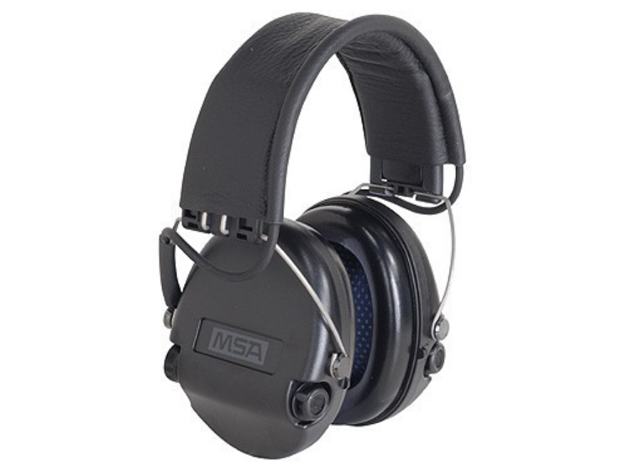 MSA/Sordin Supreme Pro Electronic Earmuffs (NRR 18 dB) Black