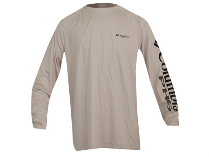 Columbia Men's Terminal Shot T-Shirt Long Sleeve Polyester