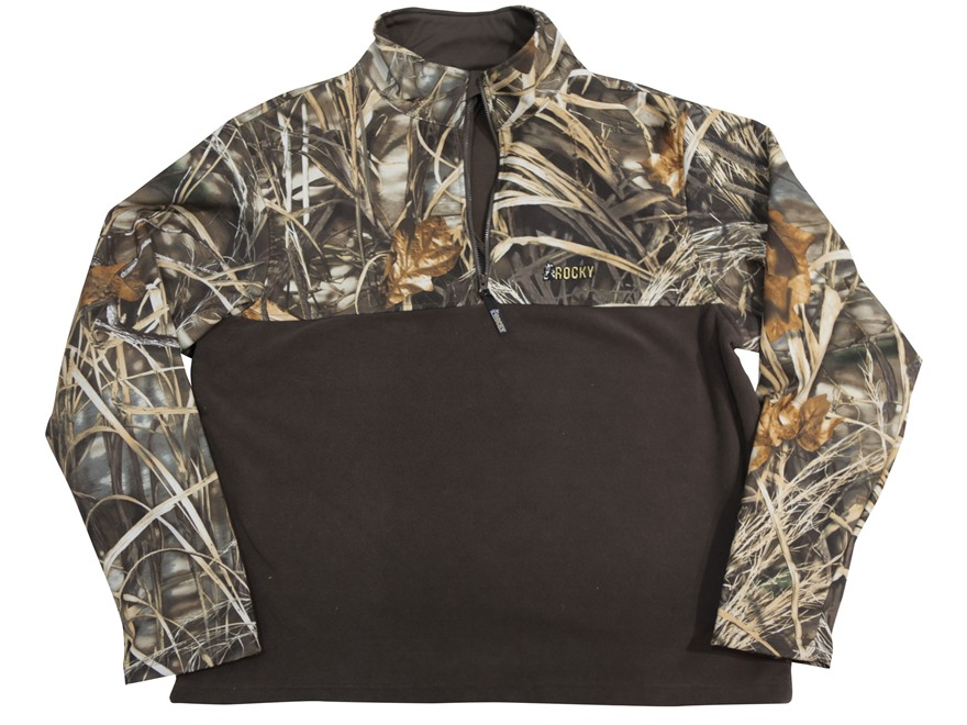 Rocky Men's Waterfowler Wader Jacket Waterproof Polyester Realtree Max-4 Camo 2XL 50-52