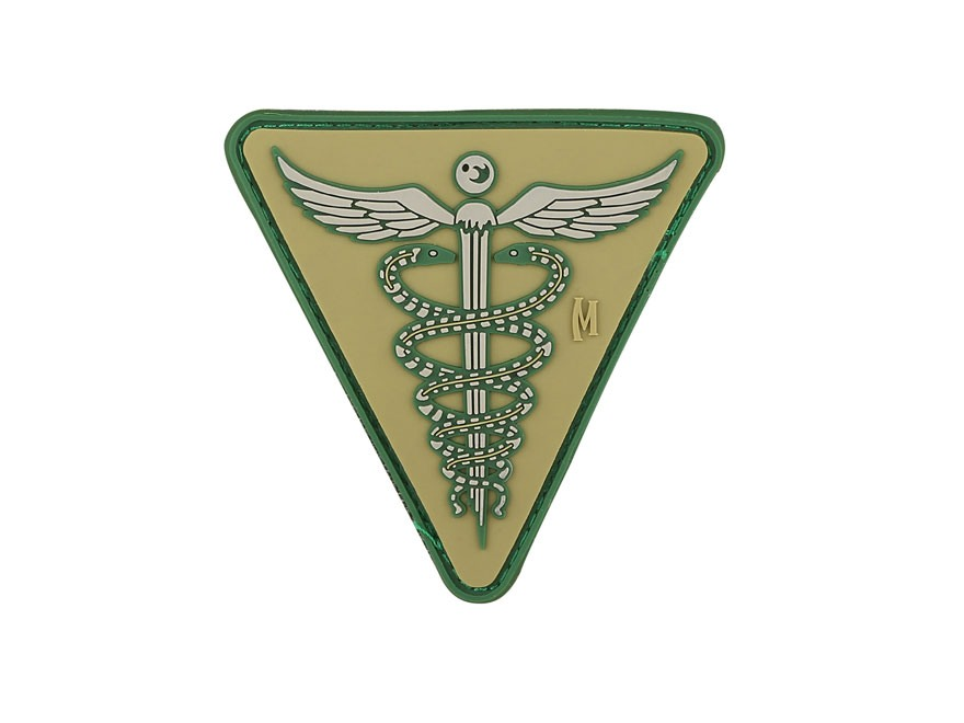 "Maxpedition Caduceus PVC Patch 2.6"" x 2.6"""