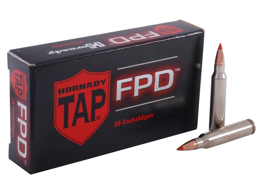 Hornady TAP Personal Defense Ammunition 223 Remington 55 Grain Polymer Tip Point Box of 20
