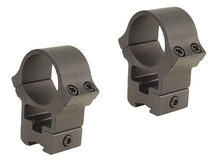 B-Square 30mm Sport Utility 22 Rimfire and Airgun See-Through Rings High Matte