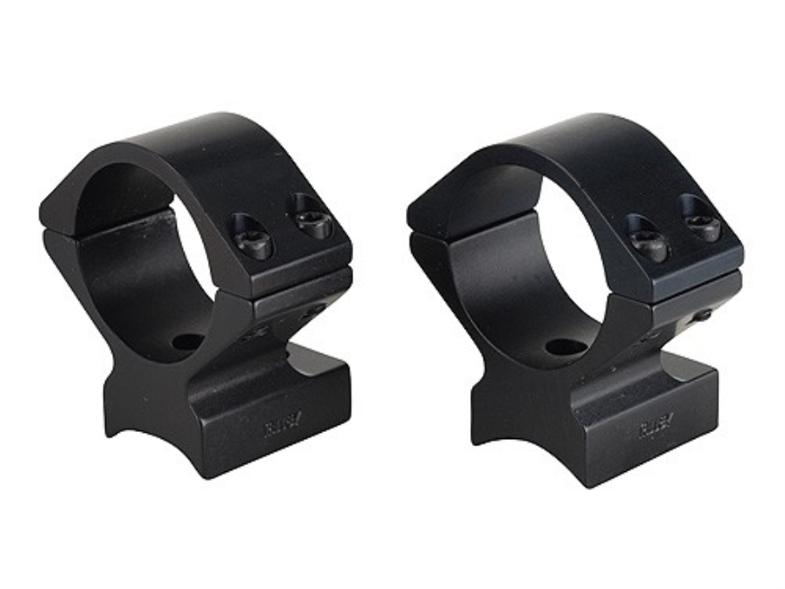 Talley Lightweight 2-Piece Scope Mounts with Integral Rings Anschutz with Drilled and Tapped Recievers Matte