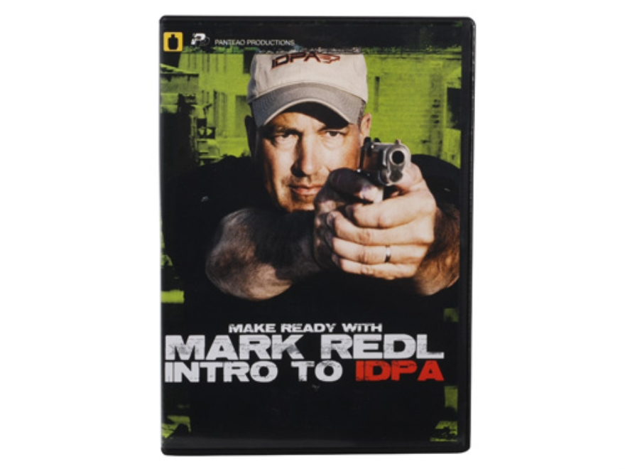 "Panteao ""Make Ready with Mark Redl: Intro to IDPA"" DVD"