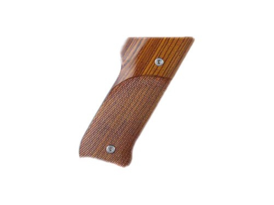 Hogue Fancy Hardwood Grips Ruger Mark II Checkered
