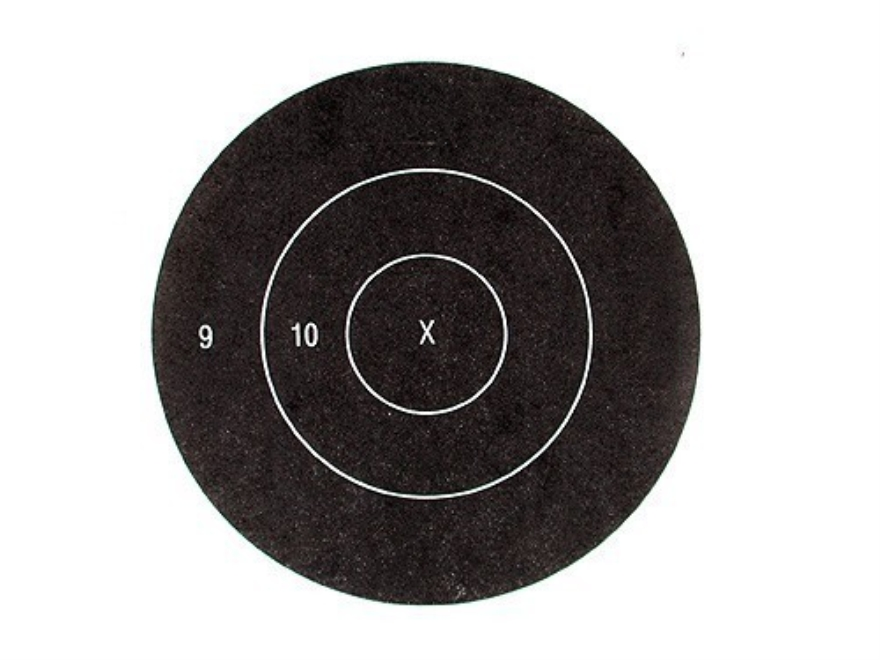 "Lyman Replacement Bullseye 3"" Timed and Rapid Fire Pack of 50"