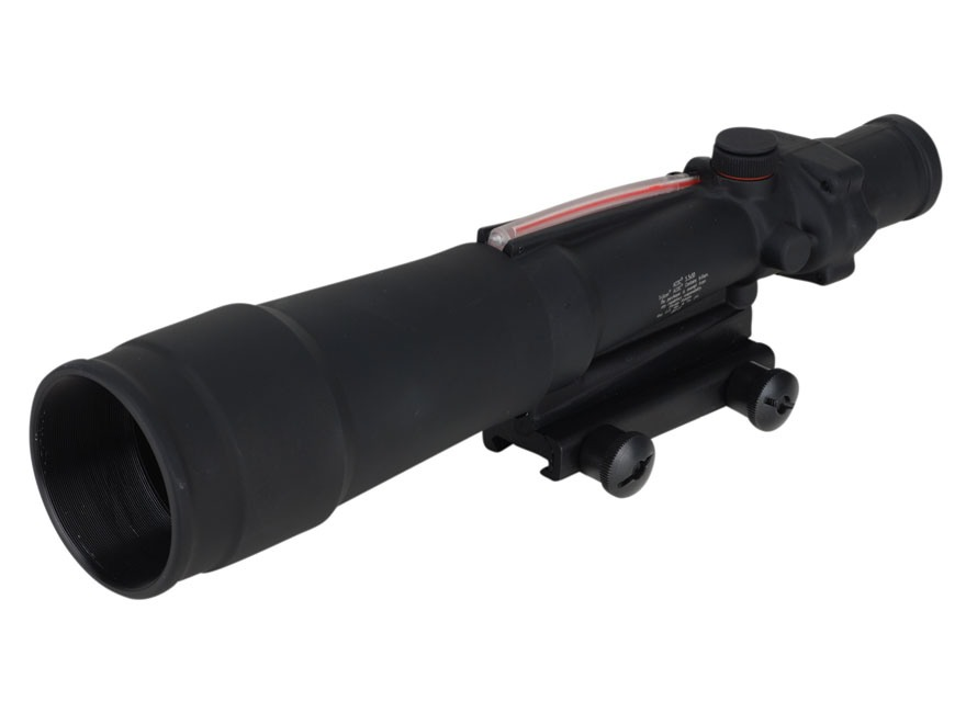 Trijicon ACOG TA55 BAC Rifle Scope 5.5x 50mm Dual-Illuminated Red Chevron Reticle with ...