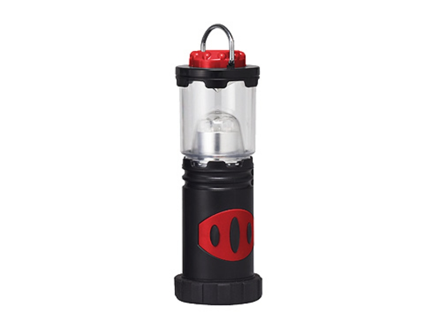 Primus LED Pocket Camping Lantern 25 Lumens without Batteries (4 AA) Polymer Black and Red