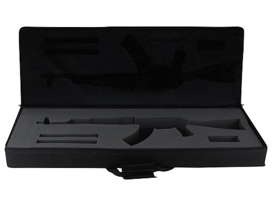 "Bulldog Hard-Sided Tactical Rifle Gun Case AK-47, AK-74 40"" Nylon Black"