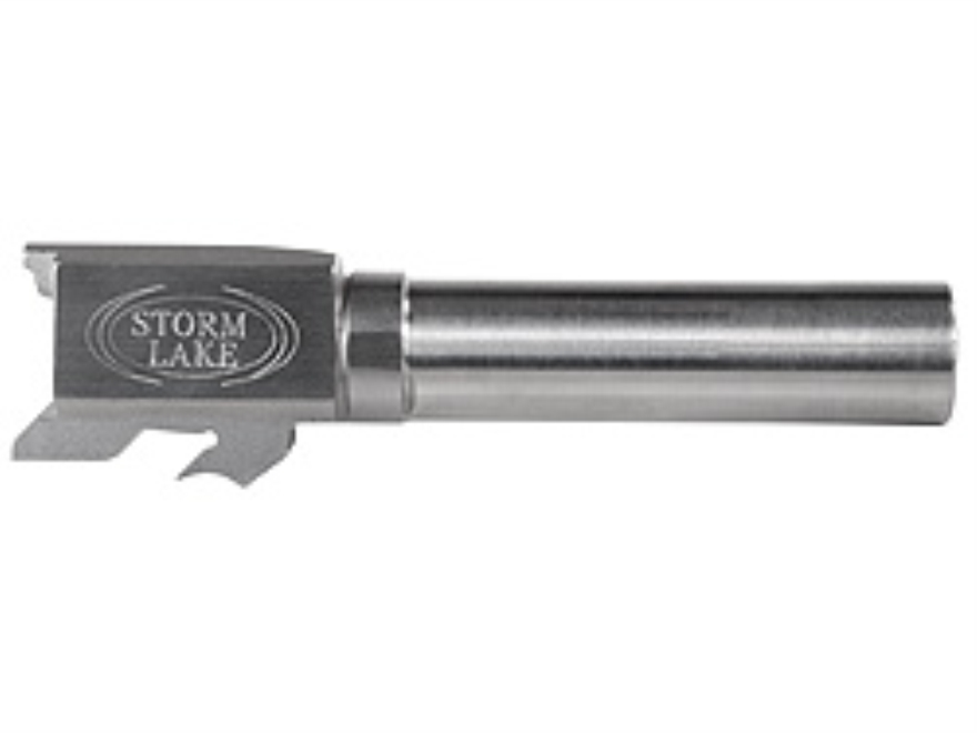 """Storm Lake Barrel S&W M&P Compact 40 S&W 1 in 16"""" Twist 3.58"""" Stainless Steel"""