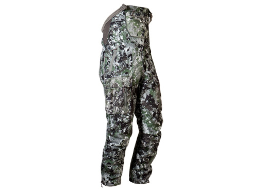 Sitka Gear Men's Fanatic Insulated Bibs Polyester Gore Optifade Elevated Forest Camo Large 34-37