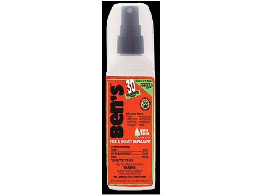 Ben's 30% Deet Insect Repellent Spray 4 oz