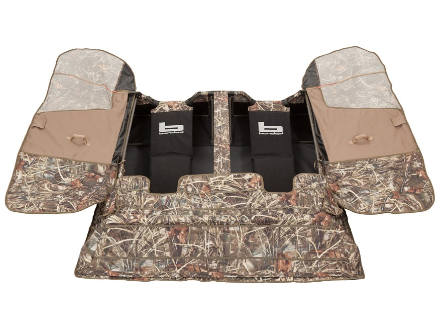 Banded Two-Man Layout Blind Polyester Realtree Max-4 Camo